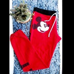 Disney Vintage Mickey Sweatpants Size M (F9)
